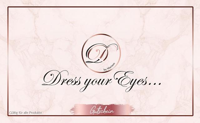 Dress your Eyes Fake Lashes Gutschein